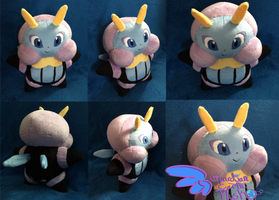 Illumise Pokemon Plush! 10'' by GuardianEarthPlush