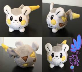 Togedemaru Pokemon Plush! 4'' by GuardianEarthPlush
