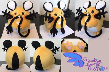 Dedenne Pokemon Plush  9.5'' by GuardianEarthPlush