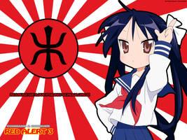 Kagami as Yuriko Omega by KaneNash