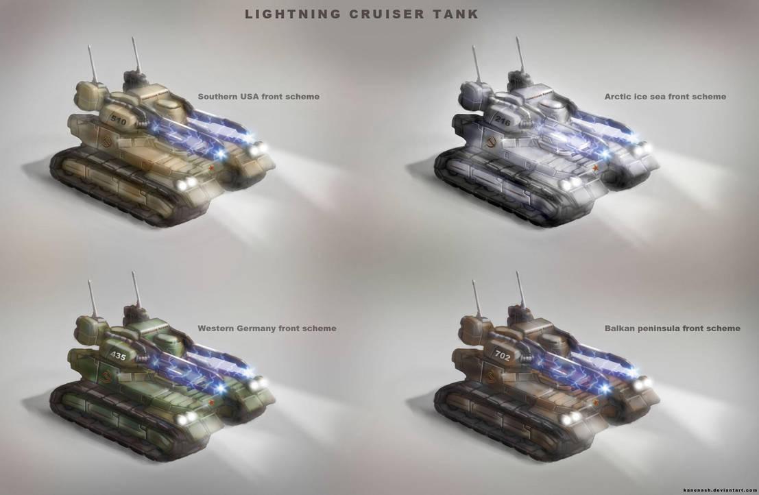 Lightning Cruiser Tank by KaneNash