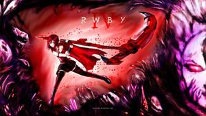 RWBY - Volume 4 - Ruby Rose - Equaliser by KaneNash