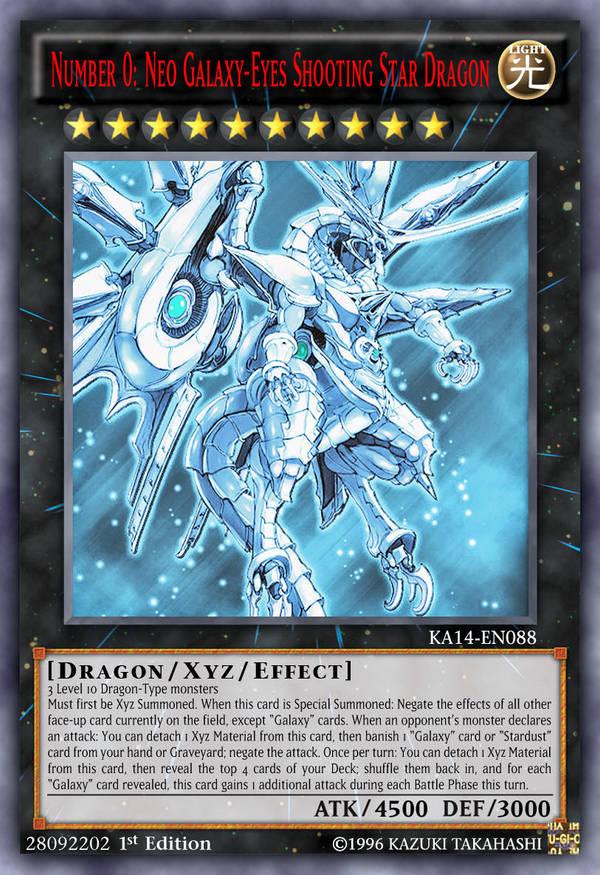 Number 0 Neo Galaxy Eyes Shooting Star Dragon By Kai1411