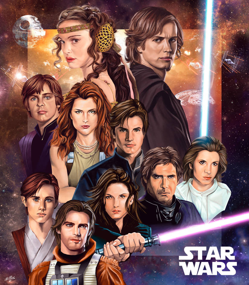 Expanded Universe Family Tree by M4TiKo