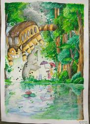 My Neighbour Totoro by Buahkasih