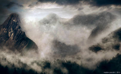 Misty Mountain's Cold by NadavYacobiPhotos