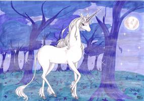 The last Unicorn - Misty dawn by Neri-chan