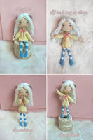Yume amigurumi chibi cat doll by Shia-Amigurumi