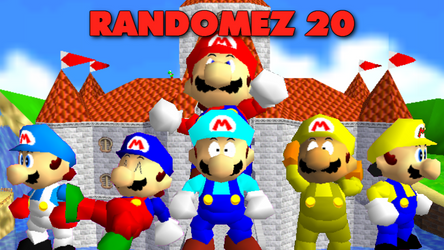 New SM64 Adventures Randomez 20 Out Now by mbf1000