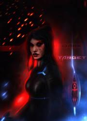 Dark Target by Xhuuya
