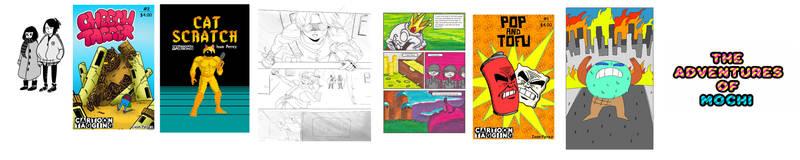 Comics, comics, comics ! by InkyTheCartoonist