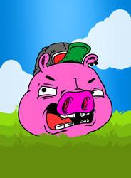 Porkchop by InkyTheCartoonist