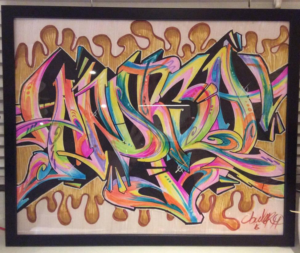 Graffiti Andrea By 139art On Deviantart