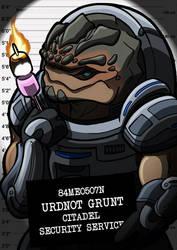 Mugshots Grunt by clueless-nu