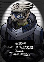 Mugshots Garrus by clueless-nu
