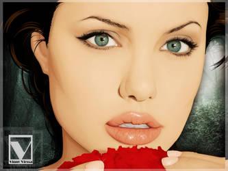 Angelina Jolie 4 by vinnyvieira