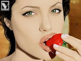 Angelina Jolie 3 by vinnyvieira