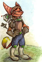 Ratchet and Clank by LauraJaneArt