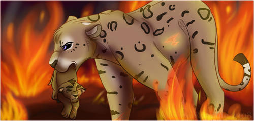 Saving the Cub ! by Romane2308