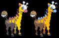 Girafarig by blazeknight-94
