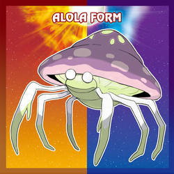 Alola Form: Parasect by blazeknight-94