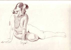 Intruder - Study- by soul-deodorant