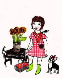 picnic dress by teenagewife