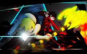 Team Voning and Pon by kiruru2592