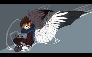[Eddsworld] Wing of tom by kiruru2592