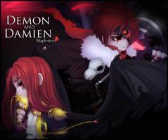 Demon And Damien by kiruru2592