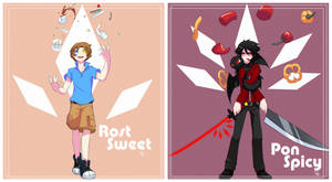 Pon Spicy and Rost sweet by kiruru2592