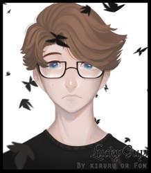 Identity V : Lucky Guy Black butterfly by kiruru2592