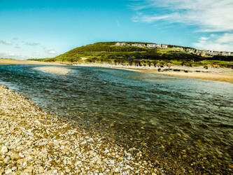 Colour Skies Overlooking River Ogmore June 2012 by welshrocker