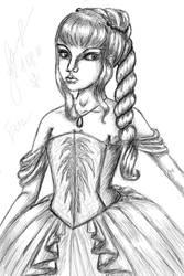 Little princess Eva by Mikakora