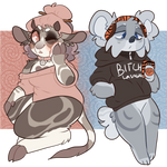 More random adopts | CLOSED | by stariitea