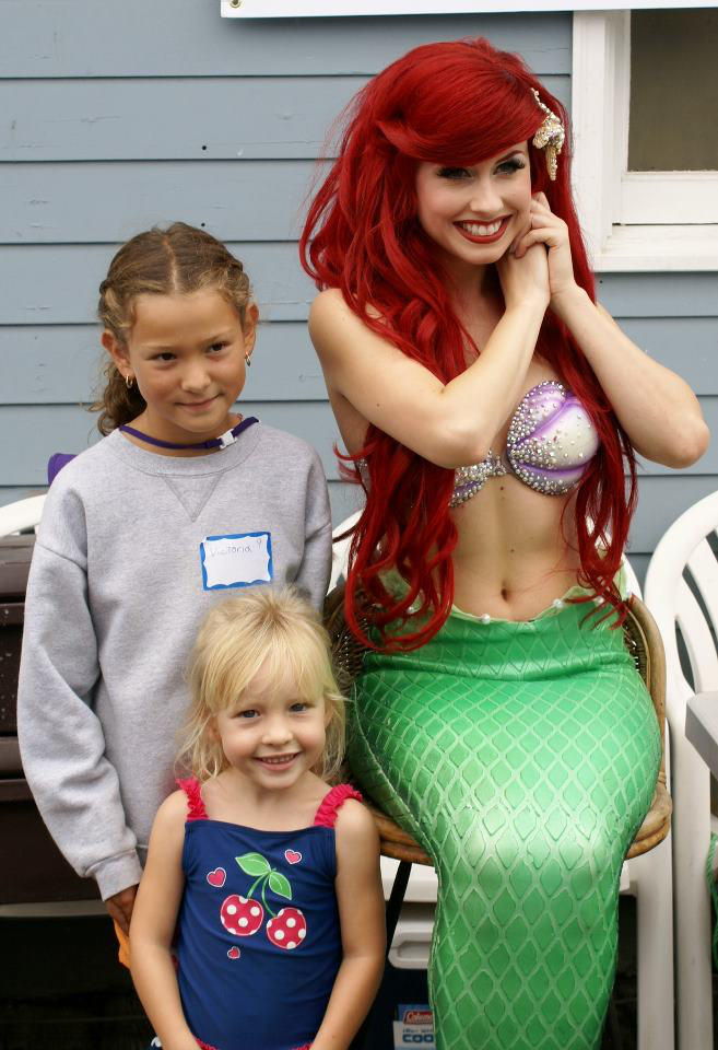 Little Mermaid @ a FISHING DERBY?! by TheRealLittleMermaid