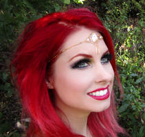 Firefly-Path Circlet by TheRealLittleMermaid