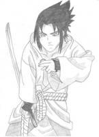 Uchiha Sasuke by CCheryl