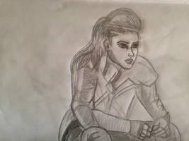 Octavia (the100) by CCheryl