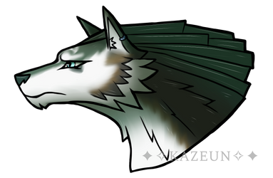 Wolf Link by Kazeun