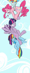 Friendship is Flying by graphic-lee
