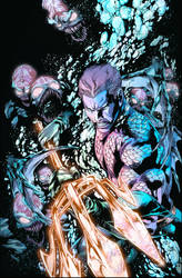 Aquaman #1 Colours by Col-Splash