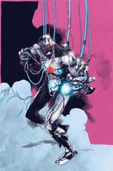 Cyborg by Felipe Watanabe 02/07/18 by Col-Splash