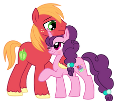 big mac and sugar belle by VelveagicSentryYT