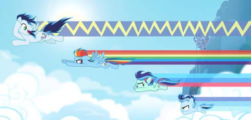 MLP [Next Gen] Family rainbows by VelveagicSentryYT