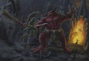 The Showdown by Jujusaurus