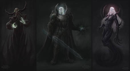 Spectre Concepts 1-3 by Jujusaurus