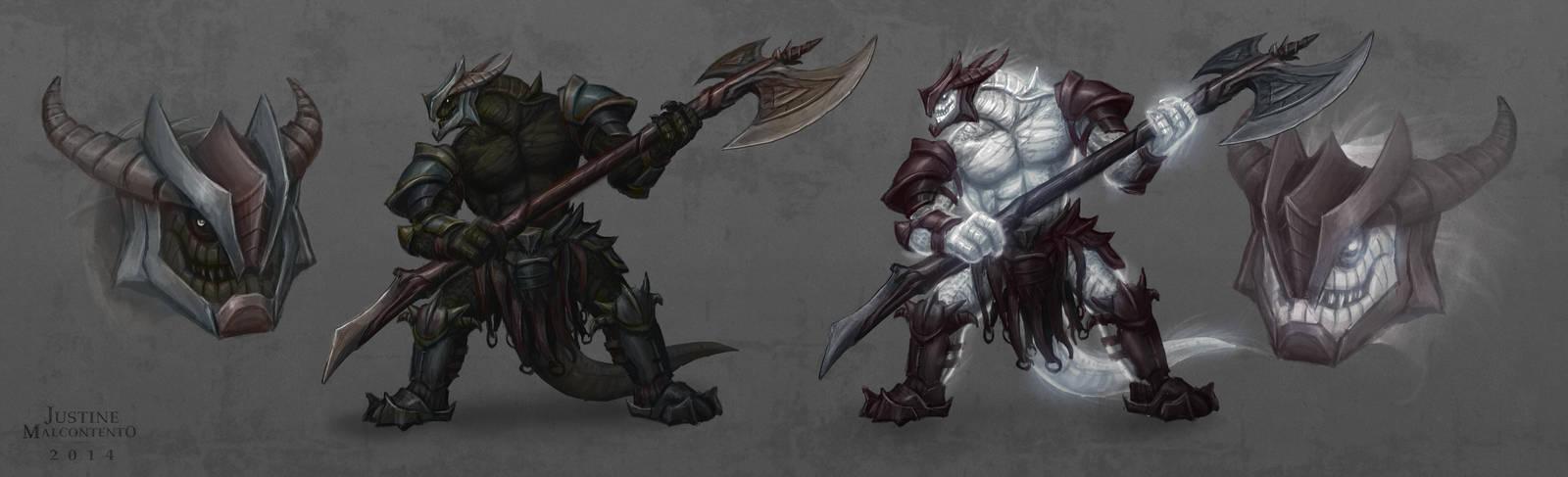 Spectres : Tyrant Warrior by Jujusaurus