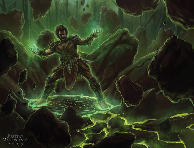 Forest Warlock by Jujusaurus
