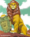 THE CROWN OF THE KING AND THE LION - by MAKATAKO